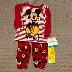 Mickey Mouse pajamas